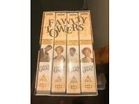 Fawlty towers vhs complete set