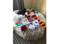 Full Kit Newborn photography Beagbag 42inch Full stuffed with props and support pillows