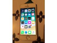 IPhone 5s silver 16gb unlocked perfect working order can deliver
