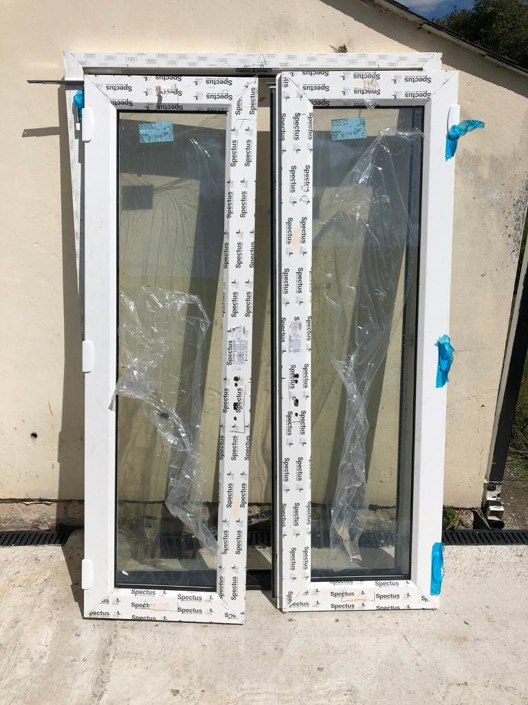 French Patio Doors New White 1350 X 2060 Low Threshold 300 In
