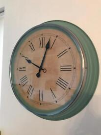 Very Large Traditional Ikea Skovel Wall Clock Brand New
