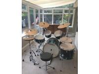 Mapex Drum Meridian Birch 6 pc Drum Kit with Zildian Cymbals