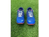 Nike free run 5.0 blue and pink trainers. Size 5.5. £15 excellent condition.
