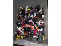 Over 100 nail polishes
