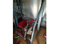 2 x leg workout machines