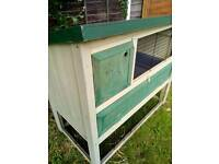 3 level premium rabbit hutch. Almost new.