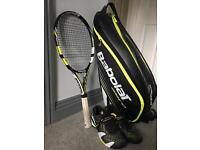 Babolat Aero Pro Drive Racket and bag