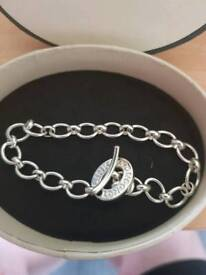 Links London bracelet and 2× charms