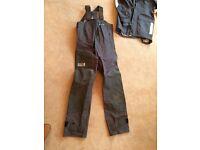 Henri Lloyd offshore men's jacket and salopettes size M