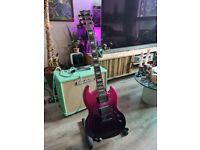 ESP LTD VIPER-400 MINT Ltd Edition Pinkberry Metallic Fade Seymour Duncans