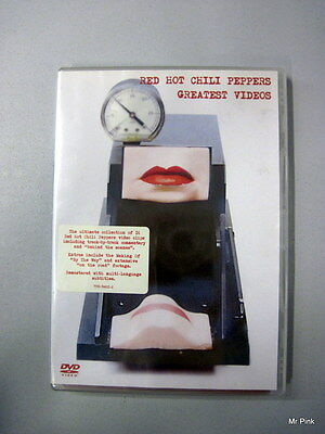 RED HOT CHILI PEPPERS Greatest Videos Collection Of 16 Videos Warner New Nuovo
