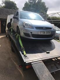 FOR BREAKING 2006 Ford Fiesta Mk6 1.4 Petrol All Parts Available