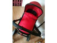 Mothercare journey in red