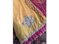 Indian Bollywood designer saree