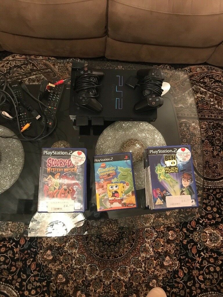 Playsation 2 with CD and consoles