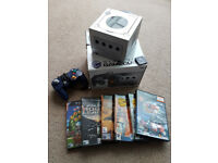 Nintendo Gamecube Bundle with 5 games