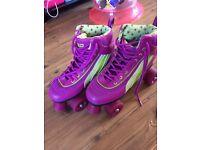 Ladies retro roller skates size 6