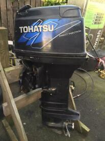 2007 tohatsu 50hp direct injection ptt