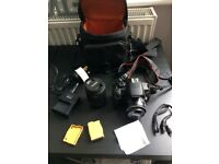 Hey I'm selling my Canon EOS EOS 700D 18.0MP Digital SLR Camera with kit