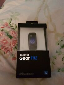 Samsung geae fit 2 watch brand new