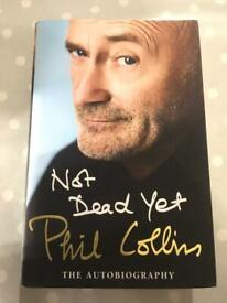 Phil Collins Not Dead Yet Autobiography