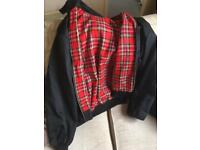 Harrington style jacket black