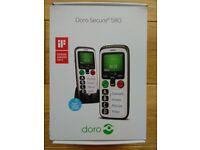 Doro phone for elderly/hearing impaired