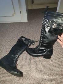 Abbey dawn boots