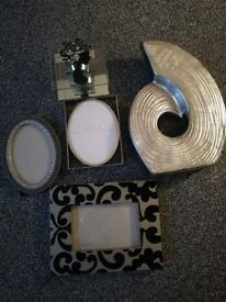 Photograph Frames and Ornaments