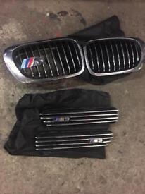 Bmw e46 m3 grille set genuine BMW parts