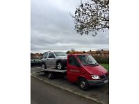 Recovery Mercedes sprinter CDI 03 plate