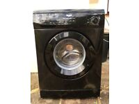 Black bush washing machine 1400