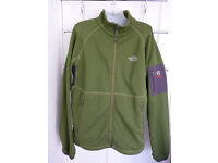 The North Face mens thermal pro summit series green fleece large