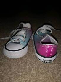 Toddler converse as new size 3