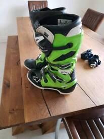 Alpinestar tech 7 motocross mx boots kxf yzf crf rmz