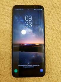 Samsung Galaxy S8+ 64gb unlocked Midnight black