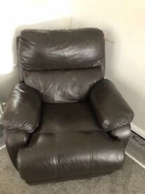 Recliner leather sofas for sale