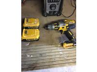 Nearly new dewalt combo drill for sale