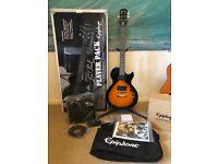 Epiphone Les Paul Player Pack in Sunburst