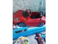 Toddlers Ferrari electric