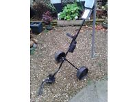 XMAS GIFT IDEA / BARGAIN **** BEAUTIFUL SLAZENGER - FOLDING GOLF TROLLEY ****