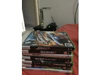 Xbox 360, games, hdmi cable, Xbox wireless pad, PICK UP ROCHDALE