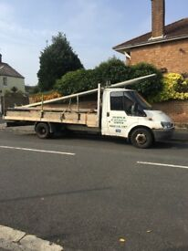 Ford transit flatbed truck