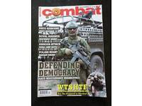 Approx 150 combat and survival magazines