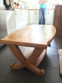 Ex Stirling Furniture Solid Oak coffee table
