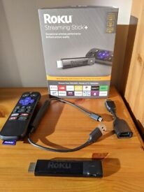 Roku Streaming Stick+ 4K and HDMI Extender (Perfect/As-New Condition)