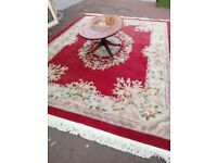 Chinese Rug £160 Approximately 390cm x 260 cm