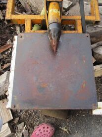 Hy-Crack british made pto driven screw type log splitter £430