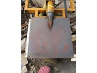 Hy-Crack british made pto driven screw type log splitter £430