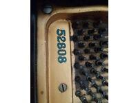 Monington & Weston 1940s baby grand piano